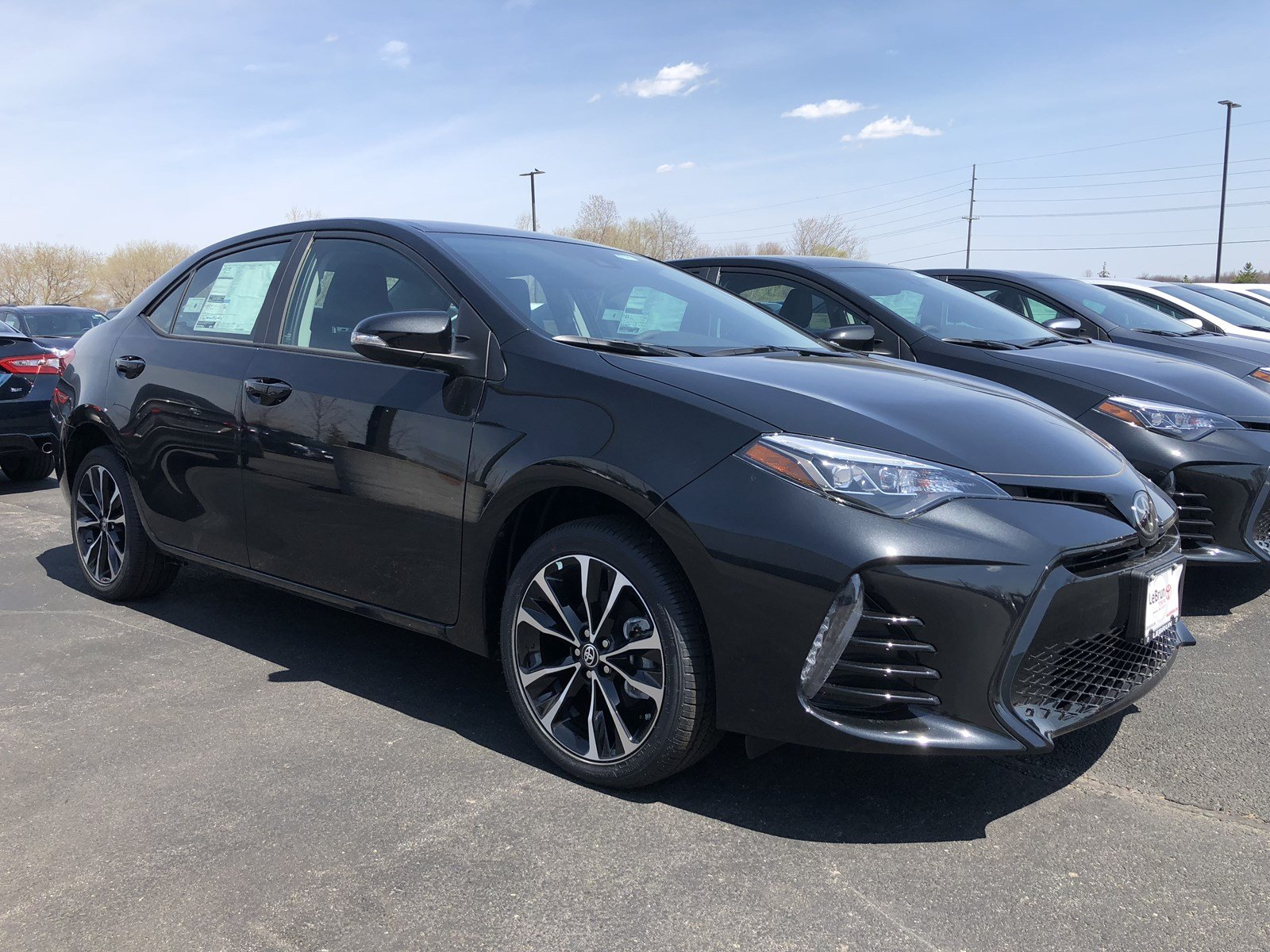 New 2018 Toyota Corolla SE 4dr Car T