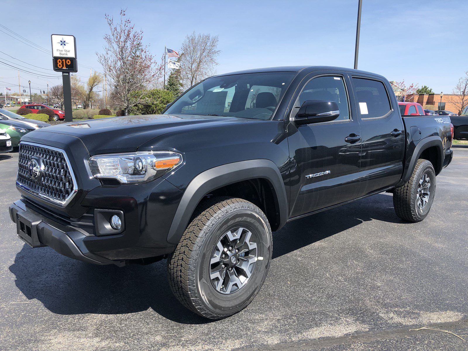 bed new toyota truck sport tacoma cab inventory at double trd